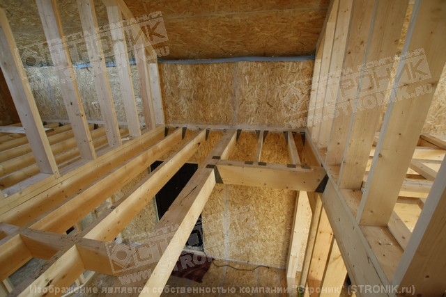 Как сделать в деревянном перекрытии проем для  803