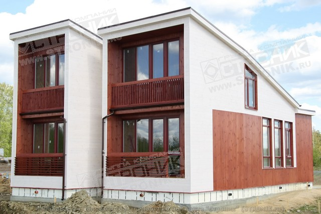 Плоский шифер для отделки фасадов