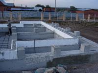 железобетонный фундамент для каркасно-панельного дома
