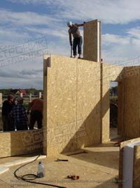 Сборка домокомплекта из SIP панелей в Челябинской области