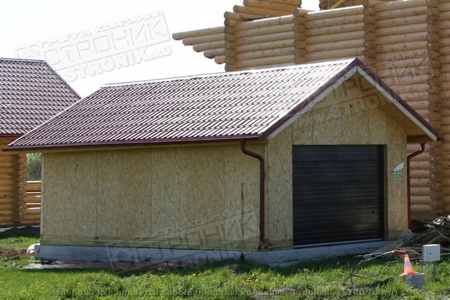 Гараж из SIP панелей | Форум: дом и дача