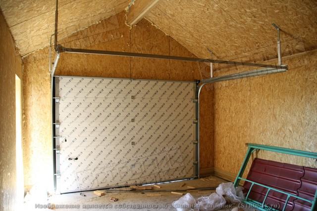 гараж из SIP панелей