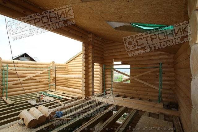 строительство теплой крыши для бани