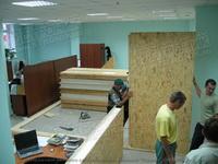 установка стен из SIP панелей в офисе строительной компании в Екатеринбурге