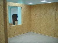 собранные стены из SIP панелей