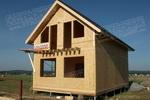 Двухэтажный дом из SIP панелей