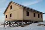 одноэтажный дом по СИП технологии
