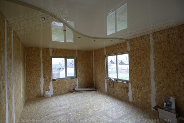 из сип изнутри фото дома панелей