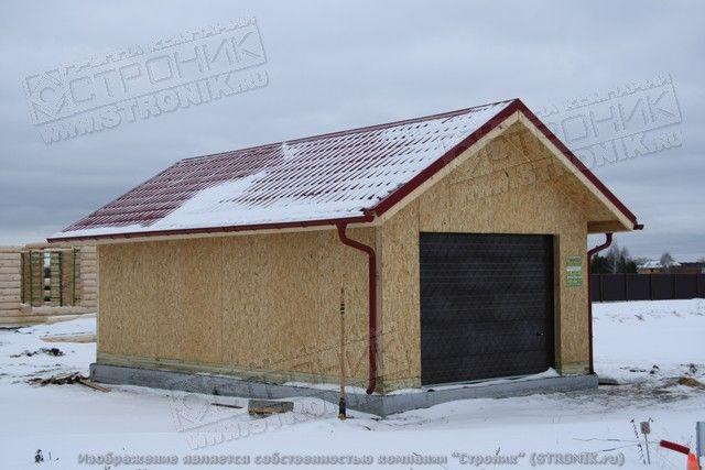 Как построить гараж из сип панелей своими руками