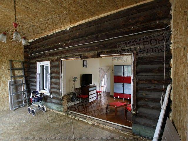 Переделка старого деревенского дома своими руками 88