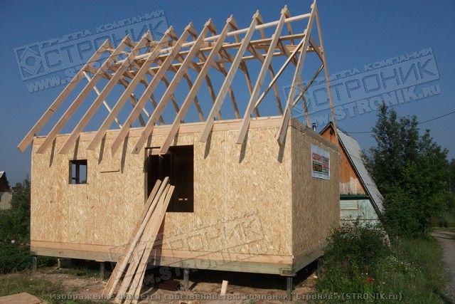 Как сделать крышу у садового домика 360