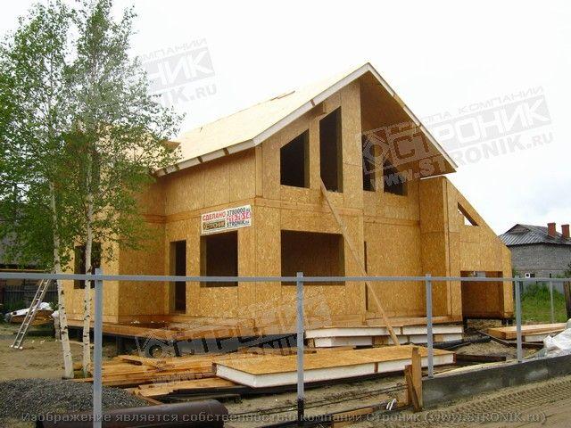 Дом из панелей видео