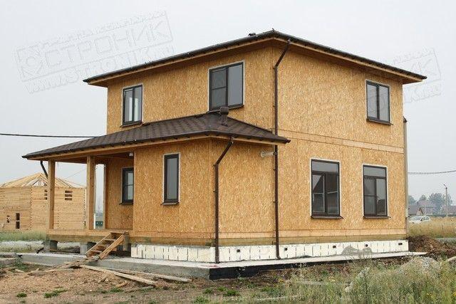 Как построить дом из сип панелей своими руками видео